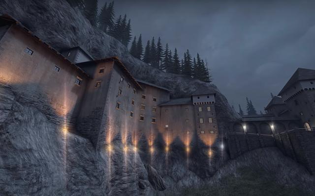 Un super fan de CSGO s'est rendu dans un château européen pour le comparer à une carte populaire
