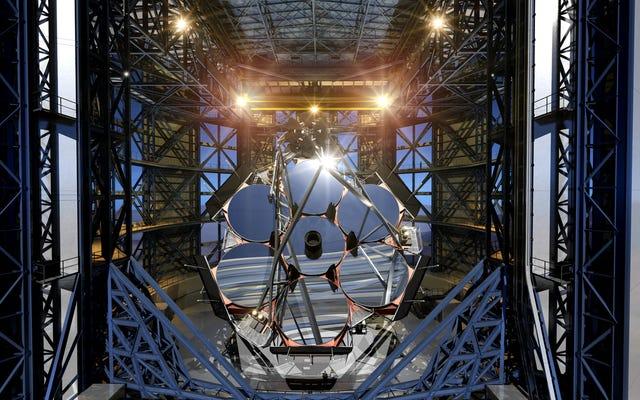 発掘は本当に巨大な新しい望遠鏡で始まります