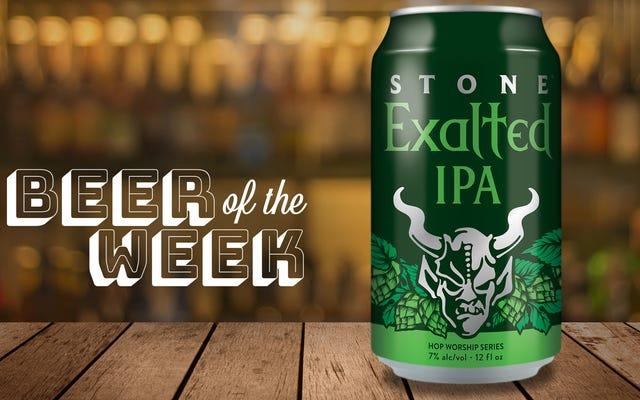 今週のビール:Stone Exalted IPA