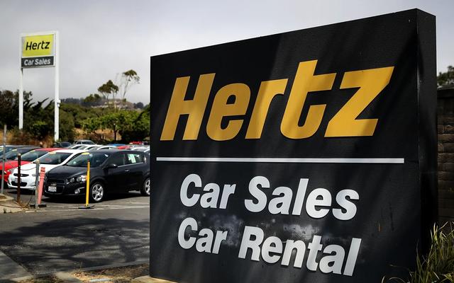 Un fallimento della Hertz potrebbe far affondare un mercato delle auto usate già in difficoltà