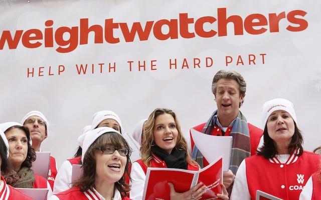 Il semble que les investisseurs considèrent Weight Watchers comme un `` avant '', pas un `` après ''