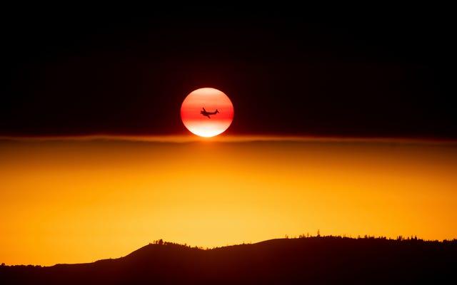 Le parc national de Yosemite recouvert de fumée alors que la Californie brûle