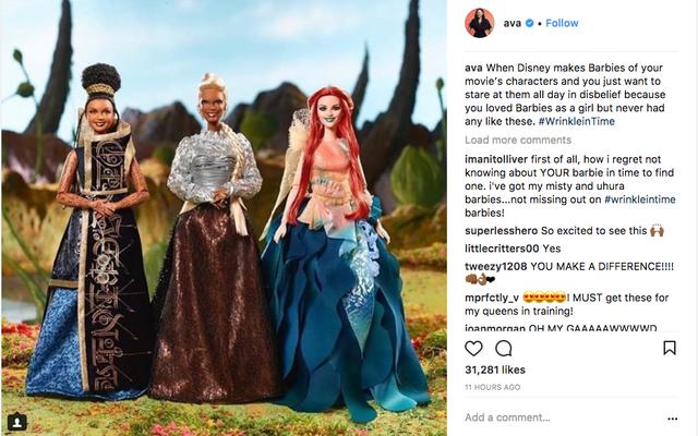 Em breve, em um universo perto de você: A Wrinkle in Time revela suas bonecas Barbie intergalácticas