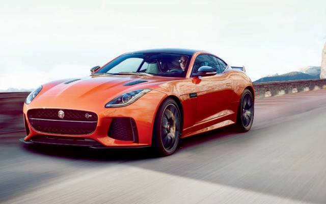 Jaguar F-Type SVR: c'est tout dans toute sa splendeur de 575 chevaux