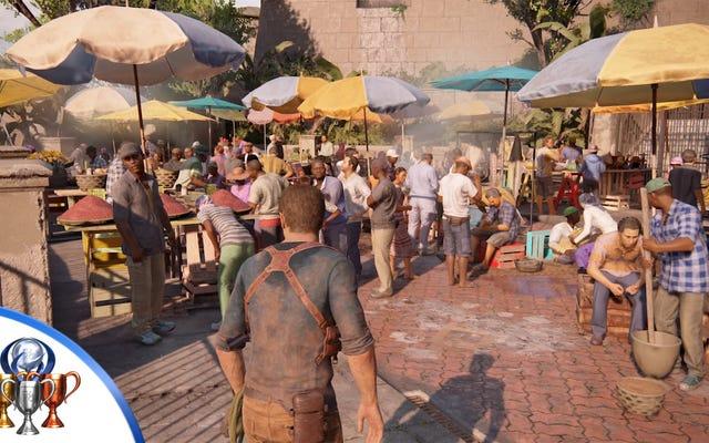 Uncharted 4, Hatalı E3 Demosunu Yeniden Oluşturmak İçin Bir Kupa Kazandı