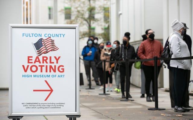 以前に不正投票の証拠がなかったことを認めたにもかかわらず、ジョージア州下院共和党員は依然として制限的投票法案を可決することに投票しました