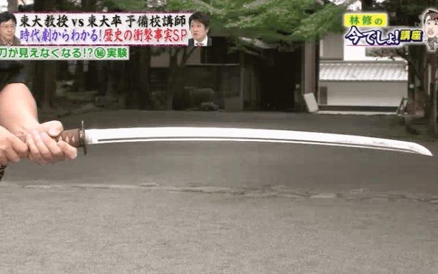 日本のフェンシングマスターによると、カタナがとても洗練されているという驚くべき理由