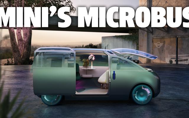El concepto Urbanaut de Mini es una habitación sobre ruedas que hemos visto antes y volveremos a ver