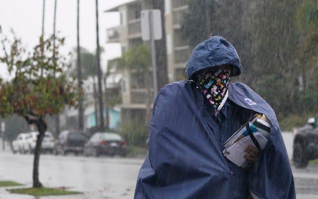 Musim Api Kalifornia Dari Neraka Diikuti oleh Musim Hujan Dari Neraka