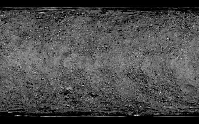 La nueva vista de la NASA del asteroide Bennu nos transporta lejos de nuestros problemas