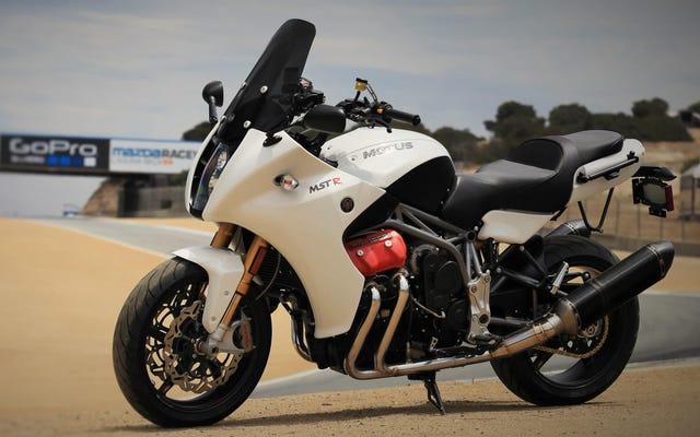 このオートバイはアメリカにとって良すぎた(または高すぎた)