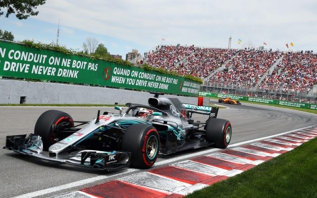 Формула 1 хочет, чтобы Канада выплатила 6 миллионов долларов за отказ подвергать опасности людей