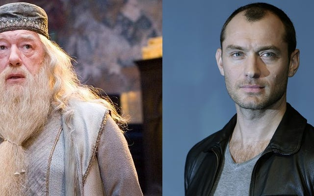 Jude Law sẽ đóng vai Albus Dumbledore thời trẻ trong phần tiếp theo của Fantastic Beasts and Where to Find Them.