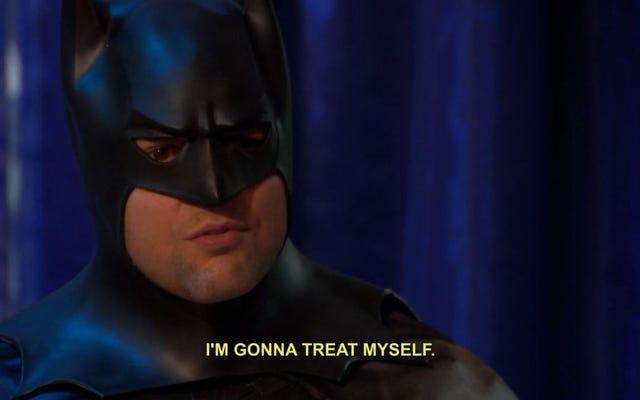 バットマンに扮装して生産性を高めることができる