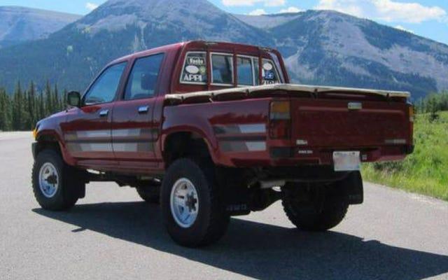 Eh bien, voici ce que vend un authentique Toyota Hilux Diesel en Amérique