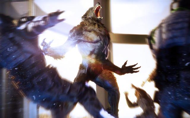 新しい狼男:黙示録のアクションゲームはあまりにもぼろぼろに見えません