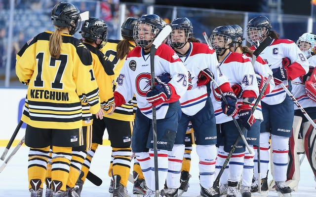 Quel est l'avenir du hockey féminin en Amérique du Nord? (Mettre à jour)