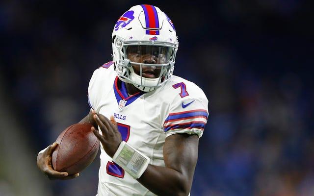 Raport: Cardale Jones płakał łzami radości po wymianie z Buffalo na drugą stronę Buffalo