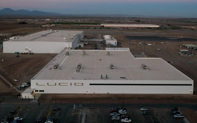 Lucidはカサグランデ工場がビジネスの準備ができていると言います