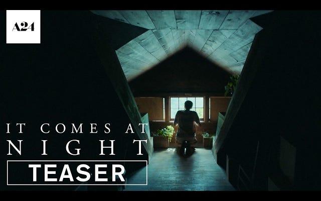 それは夜に来る、新しいA24ホラー映画の不気味な予告編を約束します