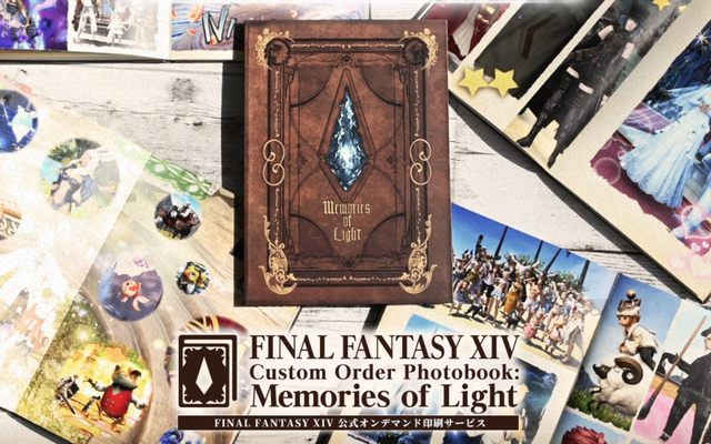 Square Enix lance un service de livre photo au Japon pour Final Fantasy XIV