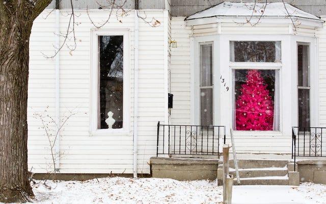 ピンクのクリスマスツリーが欲しい