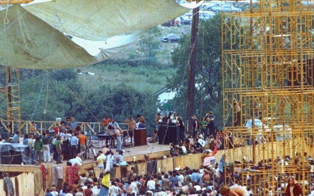 Woodstock 50 Nghe giống như một mớ hỗn độn