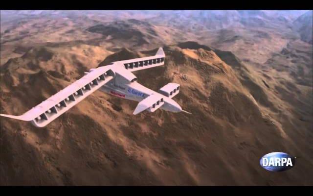DARPAの新しい垂直離陸航空機のコンセプトは完全に悪いように見えます