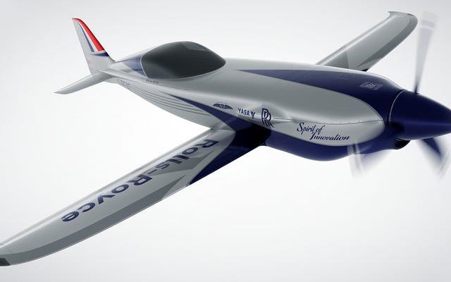 ロールスロイスがフォーミュラEエンジニアを雇い、非常に高速な電気飛行機を構築