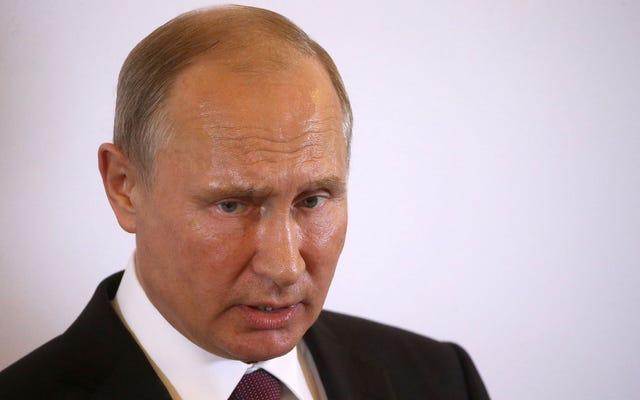 Choqué Vladimir Poutine en réalisant lentement qu'il n'a pas conspiré avec la campagne Trump