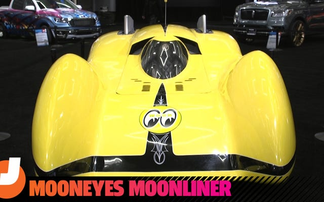 Moonliner là chiếc xe kỷ lục tốc độ đáng kinh ngạc trên đất liền do một nhà điêu khắc chế tạo