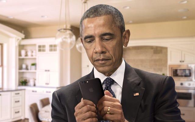 オバマ氏は、最新のエピソードに気づいた後、ポッドキャストについて再びツイートし、11ストリームしか得られなかった