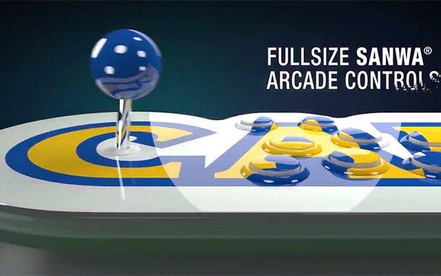 एक दोस्त के साथ आर्केड स्टिक पैक किया Capcom के नए खेल बजाना अजीब अंतरंग होने जा रहा है