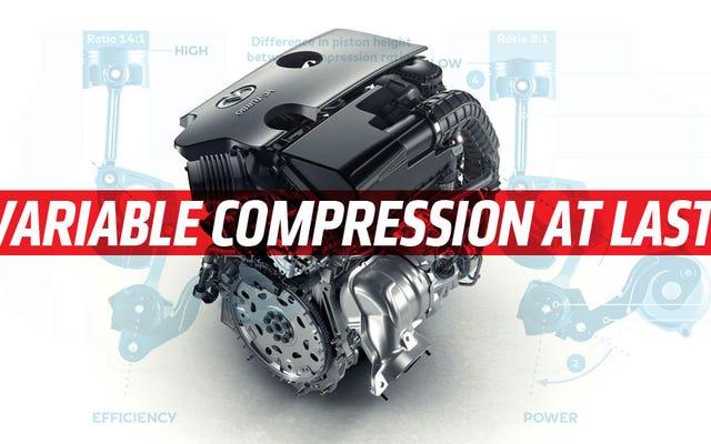 Der weltweit erste Motor mit variablem Kompressionsverhältnis könnte Diesel für immer töten