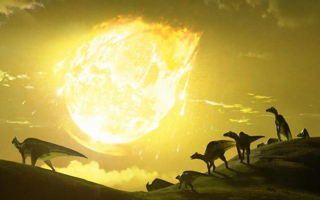 Tiểu hành tinh giết chết khủng long đâm vào Trái đất ở 'Góc có thể chết người', Đề xuất nghiên cứu mới