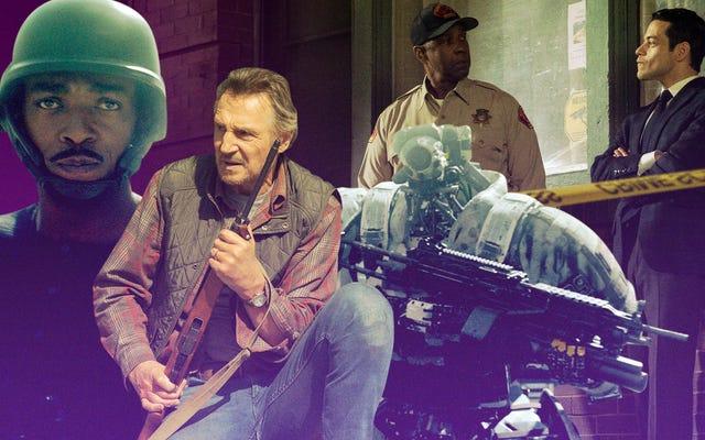 """Denzel Washington y Liam """"King Of January"""" Neeson inician un año incierto para el cine"""