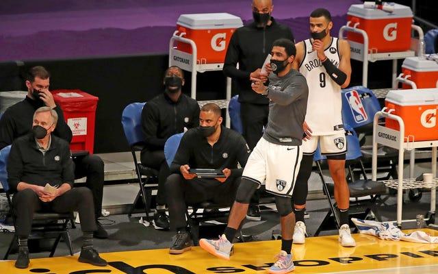 Неполные Brooklyn Nets страшно хороши, просто спросите Western Conference