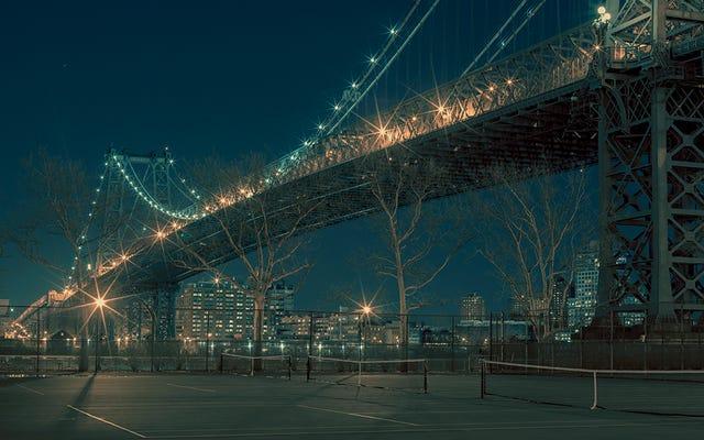 New York Metropolisine Yuvalanmış Birçok Oyun Alanı