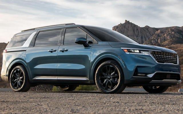 2022 किआ कार्निवल आधिकारिक तौर पर एक एमपीवी के रूप में मान्यता प्राप्त है, लेकिन गंभीर रूप से AWD के साथ उपलब्ध नहीं होगा