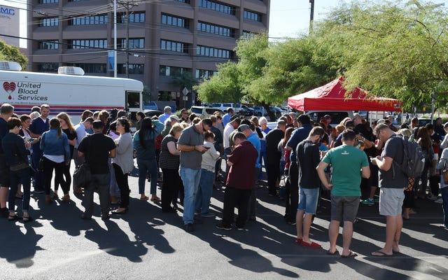 ラスベガスでの銃乱射事件の余波で献血する方法