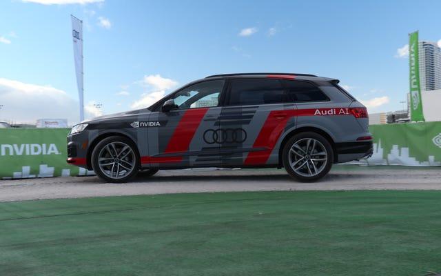 アウディとメルセデスベンツの車はすぐにあなたを見ることによって自分自身を運転する方法を学びます