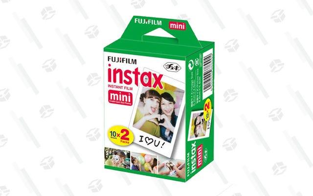 わずか13ドルでさらに20枚のInstax画像を作成
