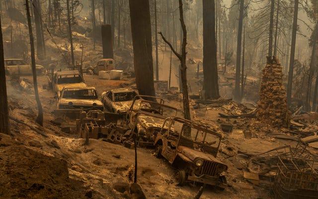 カリフォルニアの山火事で破壊されたいくつかの素晴らしいクラシックカーを見てください