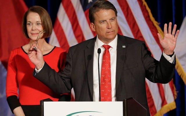 ねえ、これは悪いです:ノースカロライナ州知事パットマクローリーは彼が失った選挙を認めることを拒否しています[更新]
