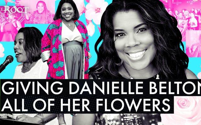 「あなたは根に消えない痕跡を残しました」:ダニエル・ベルトンに彼女の花を与える