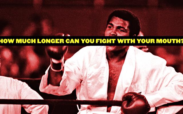 Crepúsculo desesperado de Muhammad Ali