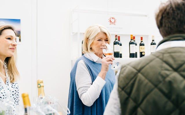यू कैन हैव आइस इन योर वाइन ': रोज़ा सीज़न विद मार्था स्टीवर्ट