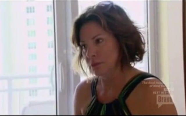 トムキャットの袋から出して:ルアンはついにRHONYで彼女の婚約者の不正行為について学びます