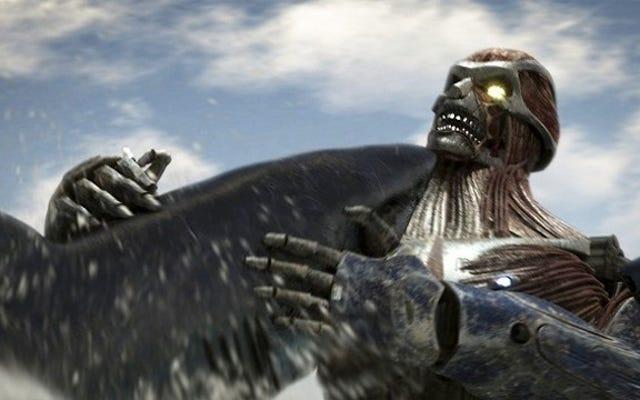 Cette attaque sur Titan Crossover est non officielle, peut-être illégale