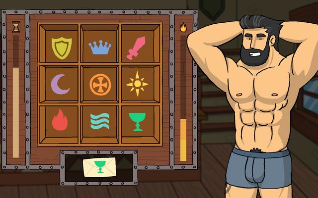 Uomini medievali sexy ti stanno aspettando a Robin Morningwood